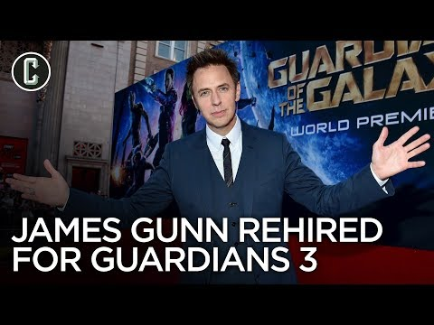 James Gunn Reinstated by Disney, Will Direct Guardians of the Galaxy Vol. 3