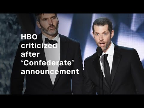 HBO's 'Confederate' announcement draws bac...