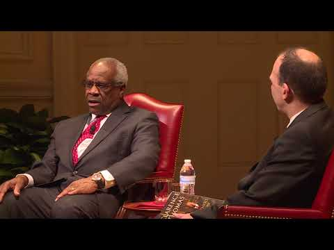 A Conversation with the Justice Clarence Thomas