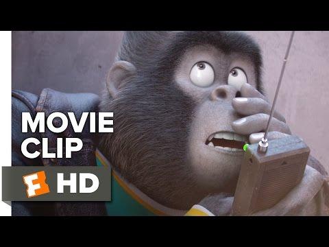 Sing Movie CLIP - Johnny Gets Distracted (2016) - Taron Egerton Movie