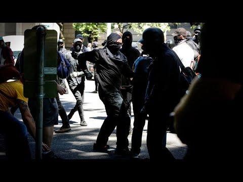 Antifa sympathisers are 'whitewashing' violence: Andy Ngo