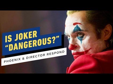 "Is Joker a ""Dangerous"" Movie? Joaquin Phoenix & Director Respond to Critics"