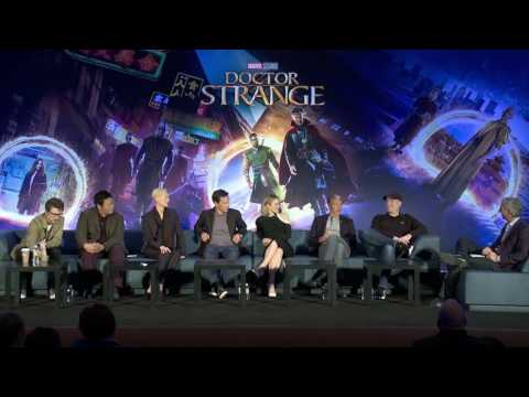 Doctor Strange: Full Los Angeles Press Conference - Benedict Cumberbatch   ScreenSlam