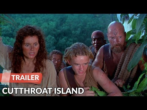 Cutthroat Island 1995 Trailer   Geena Davis   Matthew Modine