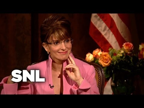 CBS Evening News: Katie Couric Interviews Sarah Palin - SNL