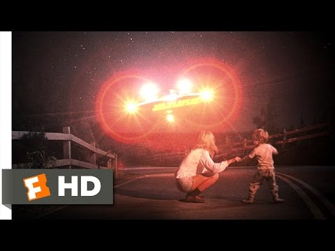 Close Encounters of the Third Kind (2/8) Movie CLIP - Chasing the UFOs (1977) HD