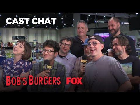The Bob's Burgers Cast At Comic-Con 2018 | BOB'S BURGERS