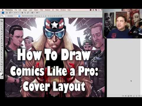 How To Draw Comics Like a PRO! Cover Layout