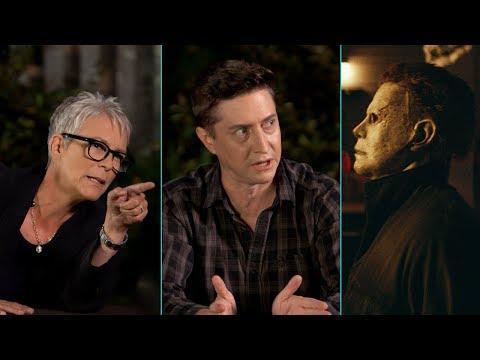 'Halloween' Scene Breakdown (1978 vs. 2018) with Jamie Lee Curtis & David Gordon Green