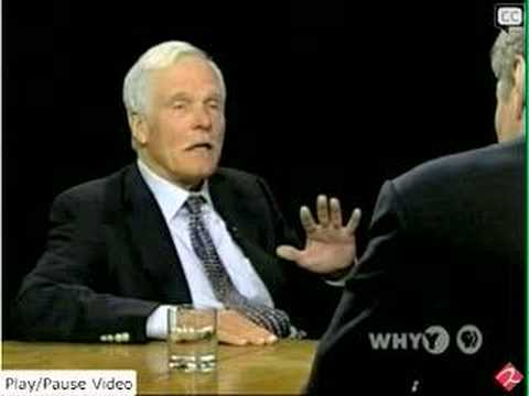 Ted Turner; Global Warming Will Create Cannibals