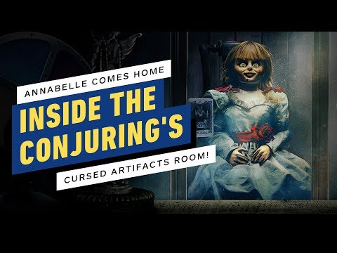 Inside The Conjuring's Artifacts Room (Annabelle Comes Home)