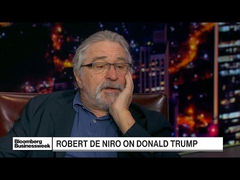 De Niro Says 'Narcissistic' Trump Has 'Debased' Office