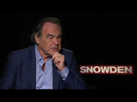 """Raw: Director Oliver Stone Talks About """"Snowden"""""""