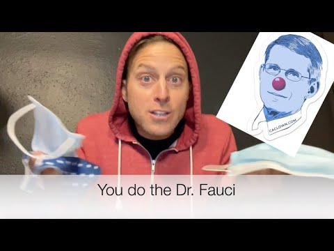 The Fauci Pokey ♫ (comedian K-von sings hit new pandemic song)