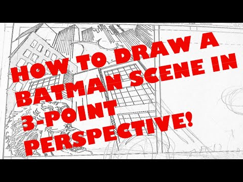 ANYONE CAN DRAW IN 3-POINT PERSPECTIVE! I'll show you!!