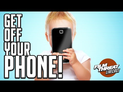 DOCUMENTARY SCREENED OUT EXPLORES SCREEN ADDICTION | Film Threat Podcast Live