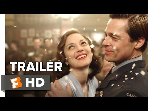 Allied Official Trailer 1 (2016) - Brad Pitt Movie