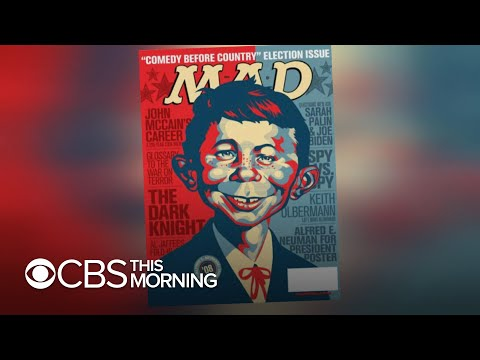 """""""Mad Magazine"""" will cease publishing new material after decades-long run"""