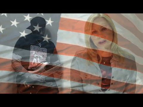 """Alfonzo Rachel and Ava Aston National Anthem - """"Red White and a Lil' Bluesy"""""""