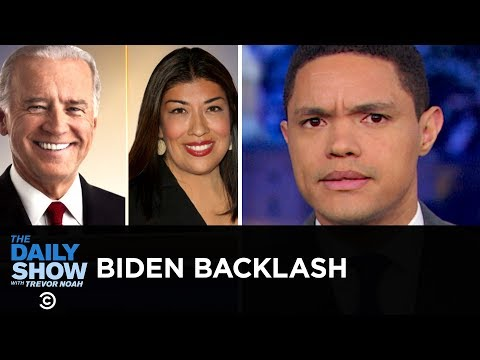 """Joe Biden Faces Backlash for His """"Hands-On"""" Approach to Politics   The Daily Show"""