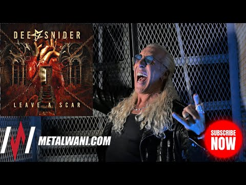 DEE SNIDER on 'Leave A Scar', Cancel Culture, and Is Rock Music DEAD?