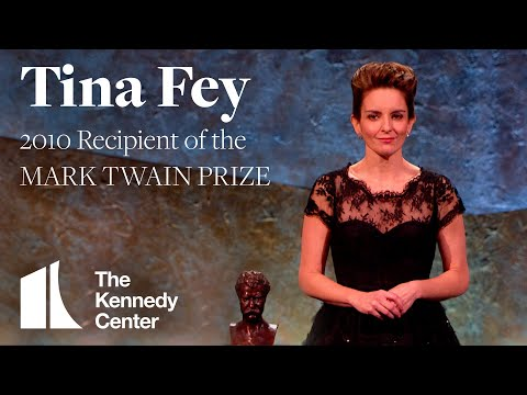 Tina Fey Acceptance Speech   2010 Mark Twain Prize