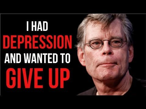 The Motivational Success Story Of Stephen King - From Depression And Failure To Worldwide Bestseller