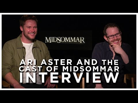 ARI ASTER and the Cast of MIDSOMMAR Interview