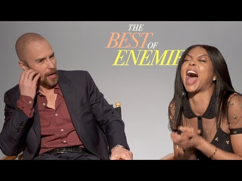 BEST OF ENEMIES Interview with Taraji P. Henson and Sam Rockwell