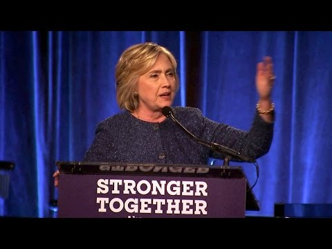 """Hillary Clinton says half of Trump's supporters are in a """"basket of deplorables"""""""