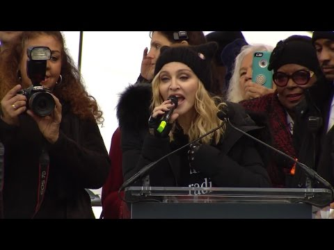 Madonna Claims Her Speech About Blowing Up The White House Was A Metaphor
