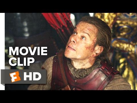 The Great Wall Movie CLIP - Fight Off a Tao Tei (2017) - Matt Damon Movie