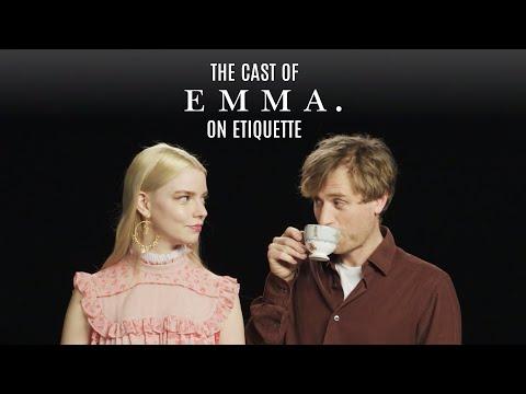 Lesson Plan | The Cast of EMMA. on Etiquette | Episode 1