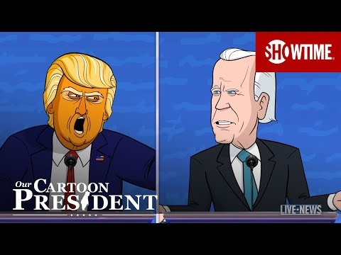 'The First Debate Goes Off the Rails' Ep. 313 Cold Open   Our Cartoon President   SHOWTIME