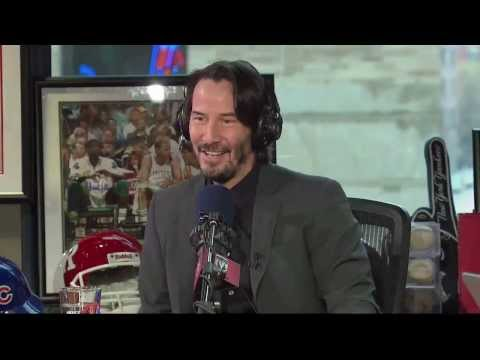 Keanu Reeves talks about POINT BREAK LIVE!