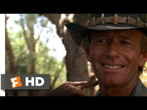 Crocodile Dundee (1/8) Movie CLIP - Death Roll (1986) HD
