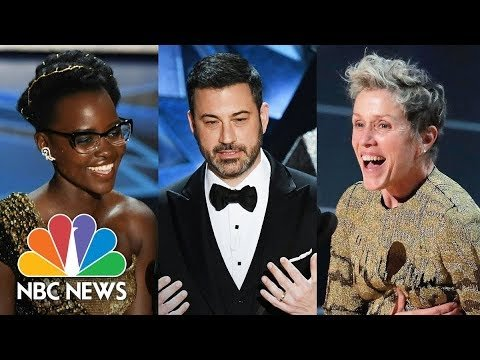 Oscars 2018: Celebrities Take A Stand, From #MeToo To Dreamers   NBC News