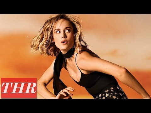All Things 'Captain Marvel' with Brie Larson: Fight Sequences, Superpowers, Goose The Cat | THR