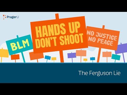 The Ferguson Lie