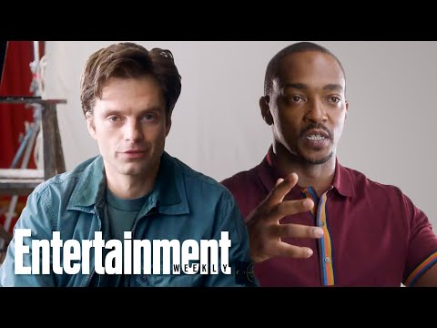 Anthony Mackie & Sebastian Stan Talk About Chemistry and Working Together | Entertainment Weekly
