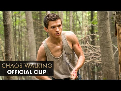 """Chaos Walking (2021) Official Clip """"Do You Know Where You're Going"""" – Tom Holland, Daisy Ridley"""