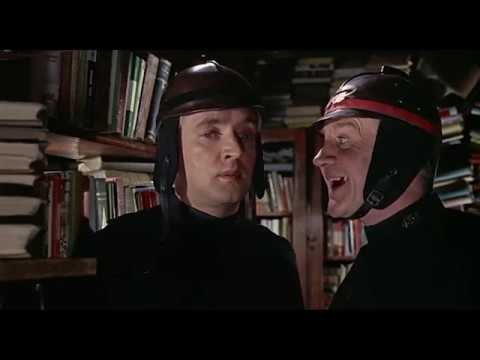 """Fahrenheit 451 - """"We must burn the books, Montag. All the books"""". (1966) HD 1080p"""