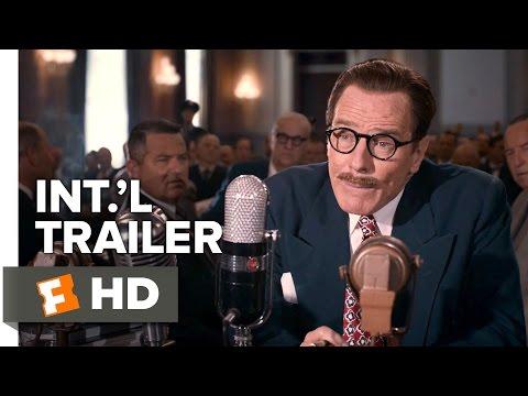 Trumbo Official International Trailer #1 (2015) - Bryan Cranston, Elle Fanning Drama HD