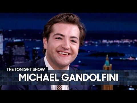 Michael Gandolfini Had Never Seen The Sopranos Before Auditioning for Tony Soprano   Tonight Show