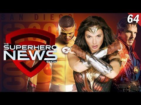 Superhero News #64: Comic Con 2016 Preview