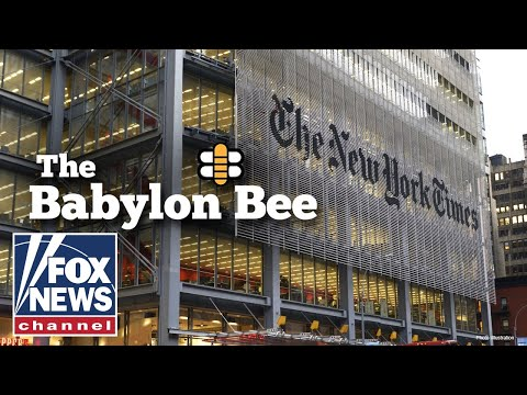 New York Times admits it smeared the Babylon Bee