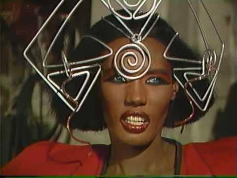 Grace jones interview, VAMP (1986)