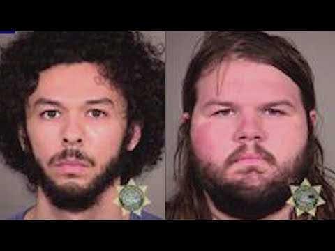 Feds detail charges against protesters for hammer attack, laser use