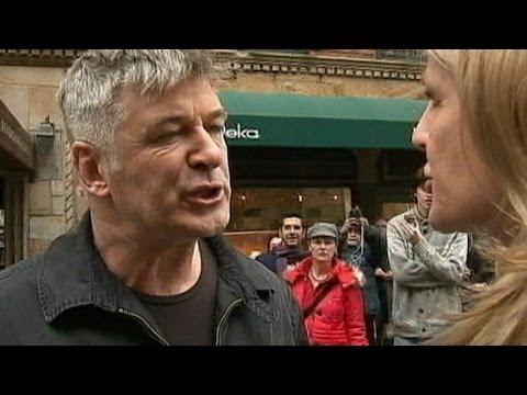 Alec Baldwin Shouts Down Reporter