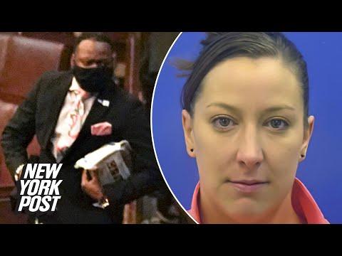 US Capitol cop who shot Ashli Babbitt ID'd as Michael Byrd | New York Post